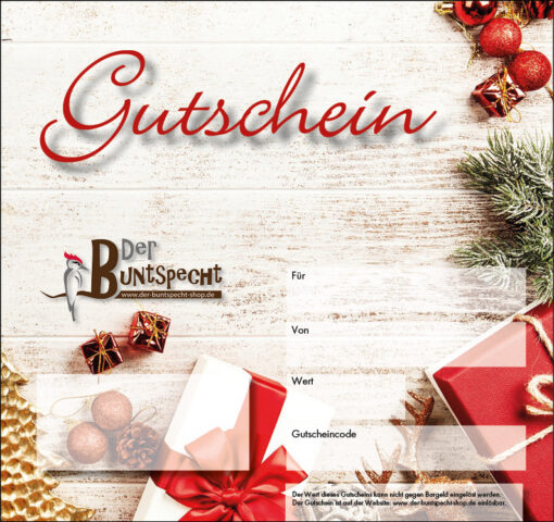 Geschenkgutschein Vorlage 4
