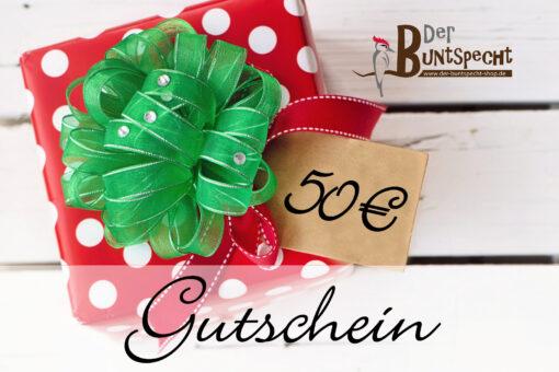 Geschenkgutschein über 50 Euro