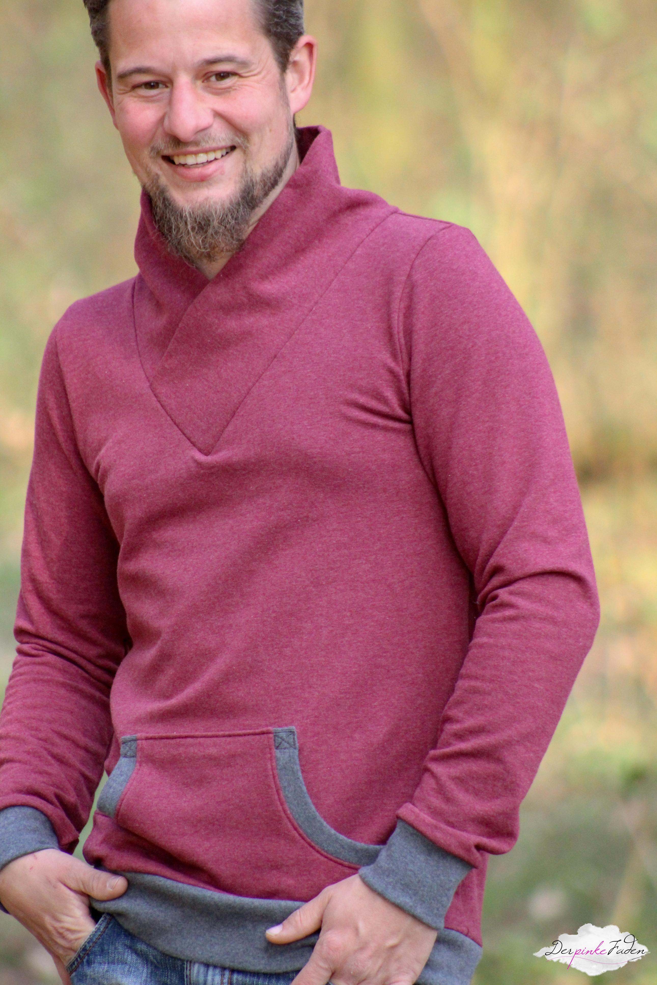 Sweatshirtstoff Eike meliert_Naehbeispiel4