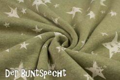 Alpenfleece Gedruckte Sterne