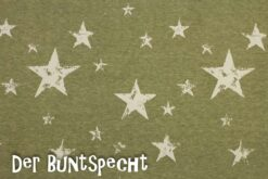Alpenfleece Gedruckte Sterne gruen