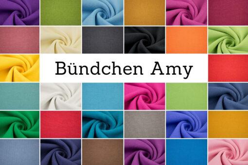 Bündchen 'Amy' in leuchtenden Farben
