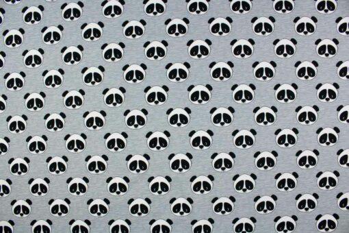 Sommersweatstoff 'Panda'