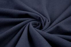 Baumwolljersey Uni Vanessa dunkelblau 599