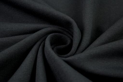 Baumwolljersey Uni Vanessa schwarz 299
