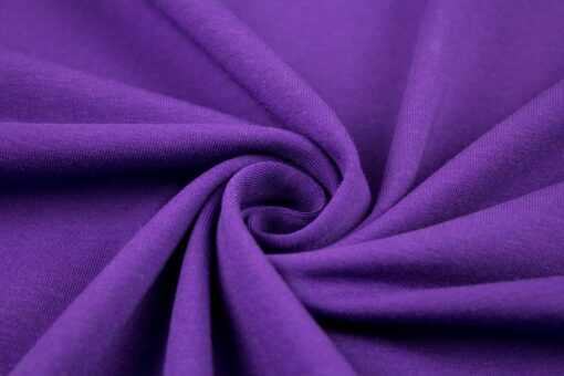 Baumwolljersey Uni Vanessa violett 647