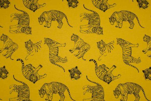 Sweatshirtstoff 'Singa Tiger'