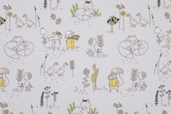 French Terry Kleine Tiere by Little Darling-2