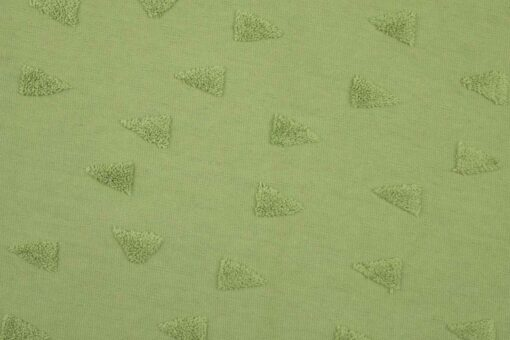Jacquard Jersey Frottee Dreiecke Little Darling-2