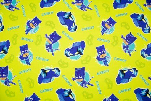 Sweatstoff 'PJ Masks Catboy and his Car'
