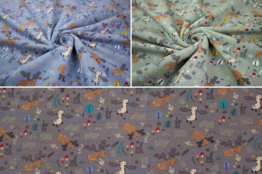 Sweat 'Kleine Elche' in vielen Farben erhältlich