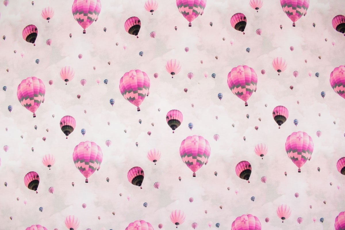Baumwolljersey mit Ballons