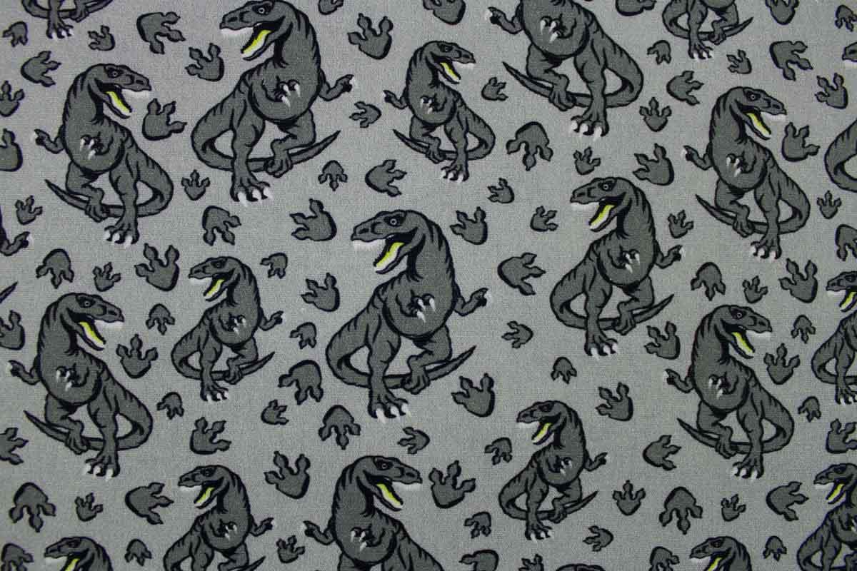 Kinderstoff mit Dinos