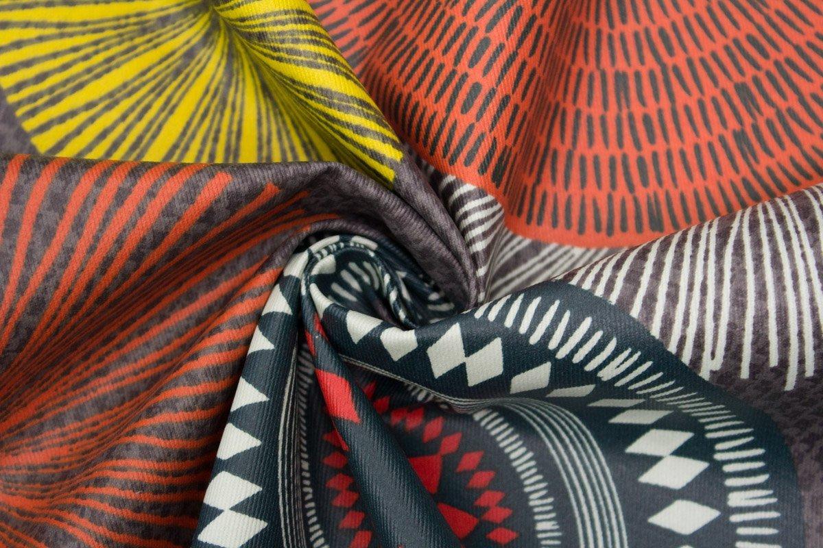 Greatangle Mehrfarbige Streifen Bio Farbige Baumwolle wasserdichte Schicht Wickelauflage Wickel Urin Pad Bettlaken f/ür Neugeborene Mehrfarben S.