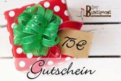 Geschenkgutschein über 75 Euro