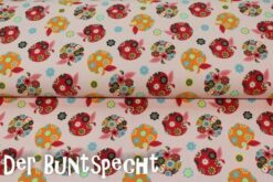 "*Eigendesign* Jersey "" Apple Flower"" rosa"