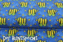 """Digitaldruck-Jersey """"Janosch-Tiegerente"""" blau"""