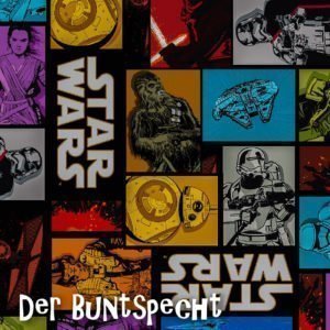 Baumwolljersey Star Wars Cartoon