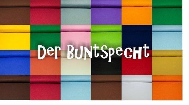 """Baumwollstoff """"Heide"""" uni - 100% BW in verschiedenen Farben"""